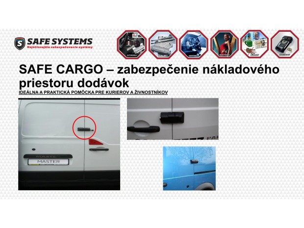 SAFE CARGO - zadné dvere
